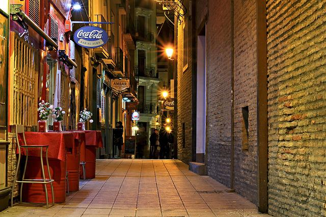 Bar, Street, City, Night, Dinner, Bike, Tavern, Boozer