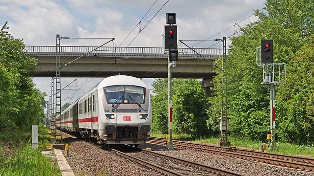 Intercity, Deutsche Bahn, Tax Car, Remote Traffic