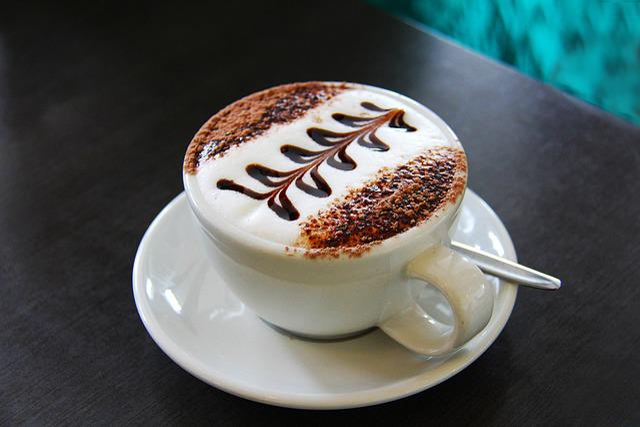 Latte, Cappuccino, Flat White, Milk, Tea, Coffee, Lunch