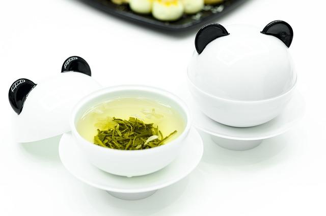 Panda, Tea, Jasmine Tea, Healthy, Lifestyle