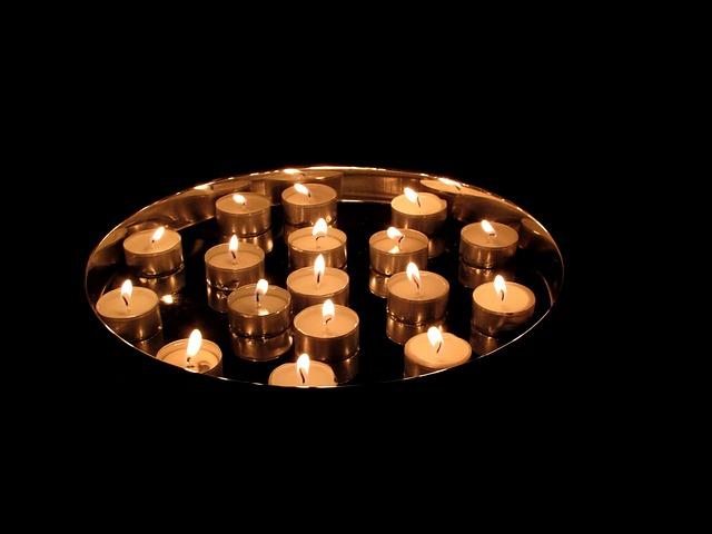 Tea Lights, Candles, Burn, Lights, Wax