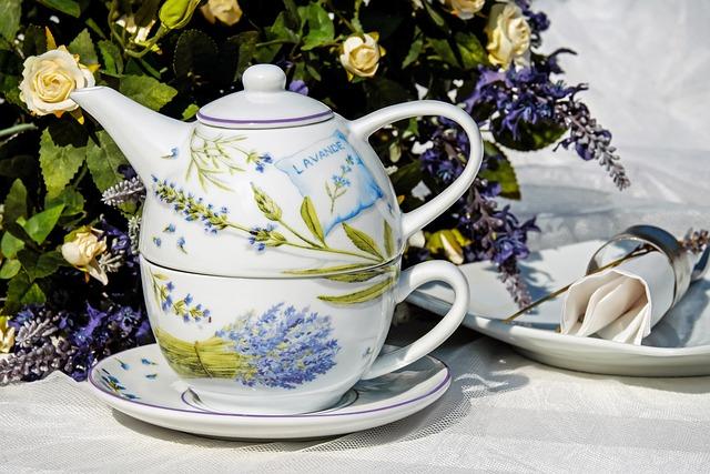 Teacup, Cup, Pot, Porcelain, Still Life