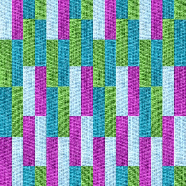 Textile, Texture, Purple, Baby Blue, Green, Teal, Bands