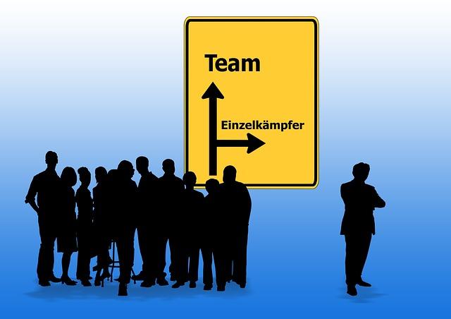 Team, Lone, Town Sign, Efficiency, Einsatzgruppe