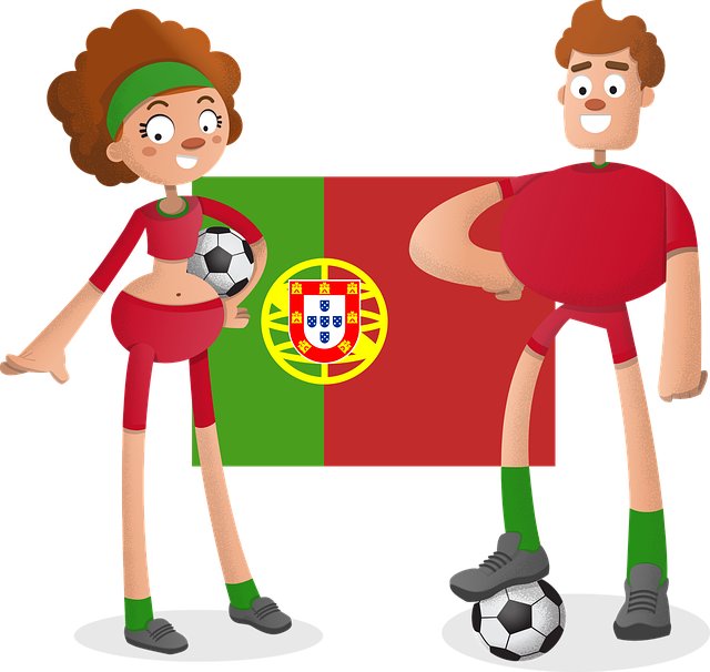 Soccer, Football, Player, Cartoon, Male, Female, Team
