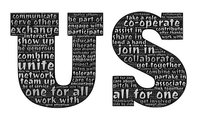Us, Cooperate, Exchange, Cooperation, Team, Teamwork