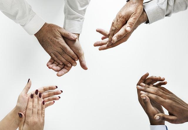 Hand, Teamwork, Cooperation, Partnership, Man