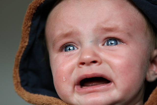 Baby, Tears, Small Child, Sad, Cry, Scream, Emotion