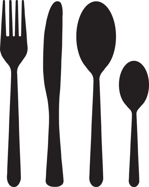 Cutlery, Fork Knife, Spoon, Teaspoon