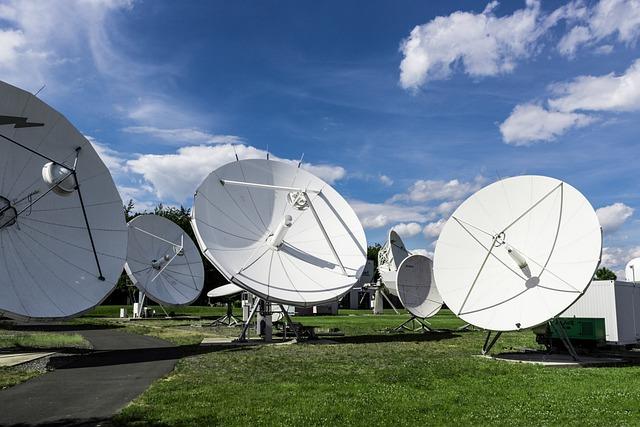 Satellite, Technology, Radio, Antenna, Communication