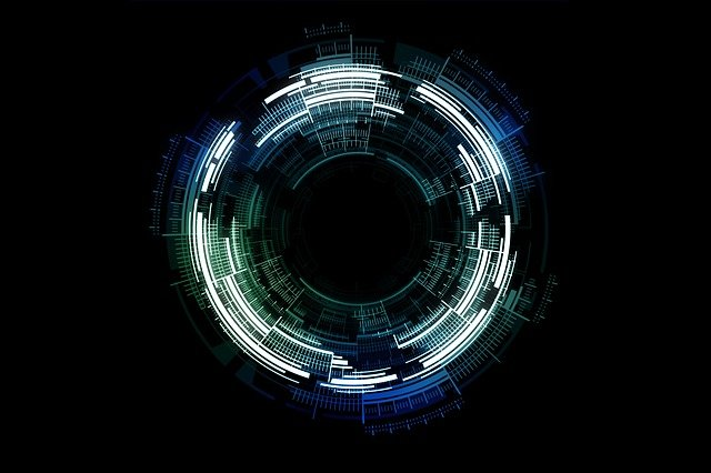 Tech, Circle, Technology, Abstract, Science, Space