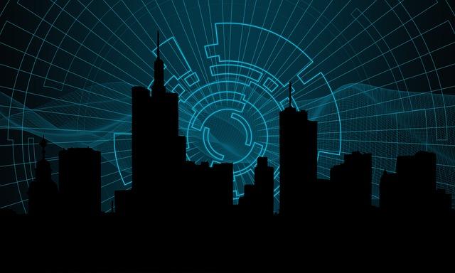 Technology, City, Globalisation, Business, Digital