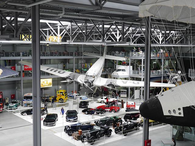 Technology Museum, Ju 52, Three, Star Motors