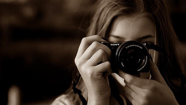 Photo, Portrait, Technology, Man, Young, Sony, Camera