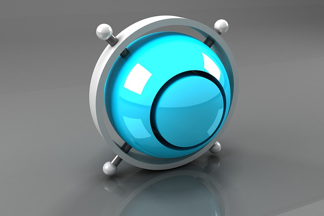 Symbol, Bright, Round, Technology