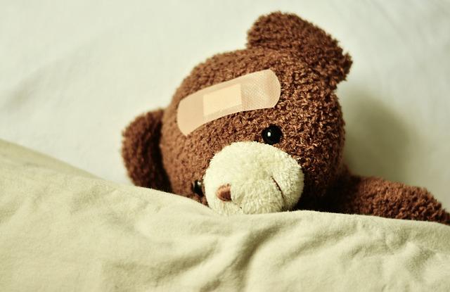 Teddy, Teddy Bear, Ill, Patch, Get Well Soon, Bears