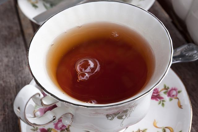 Tee, Service, Earl Gray, Teacup, Air Bubbles, Teapot