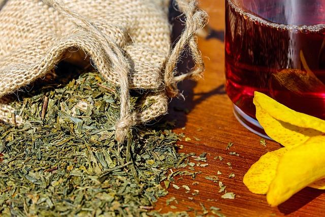 Tee, Herbs, Mix, Medicinal Herbs, Aroma, Tea Glass
