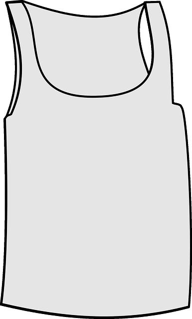 Vest, Underwear, Tank, Top, Muscle, White, Shirt, Tee