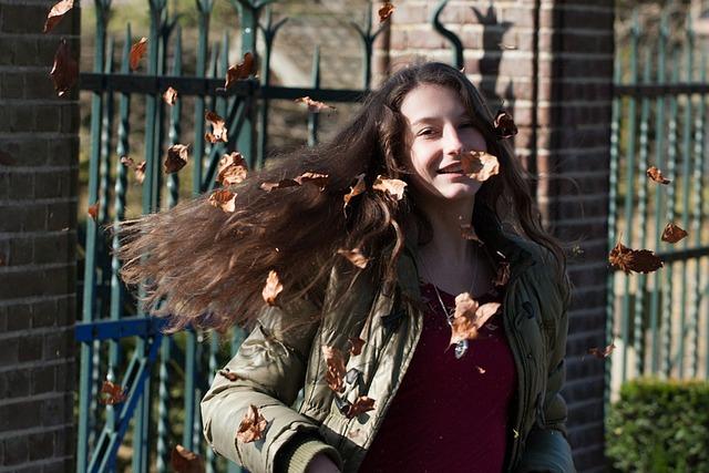 People, Girl, Teen, Autumn, Leaves, Nature, Season
