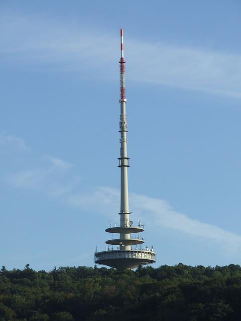 Telecommunication Tower, Stuttgart, Tower, Woman's Head