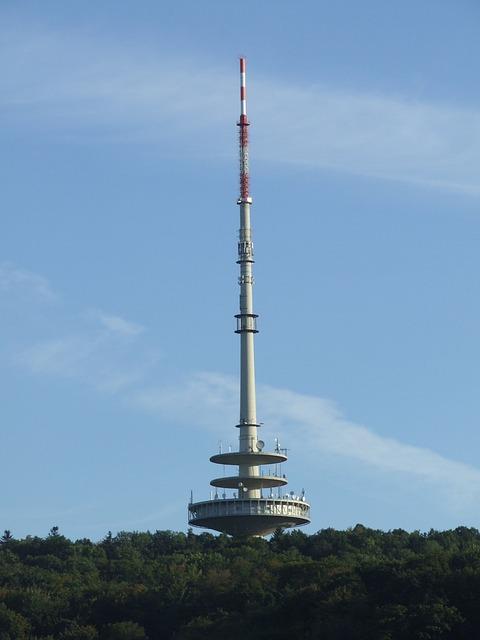 Telecommunication Tower, Stuttgart, Tower, Woman's Head