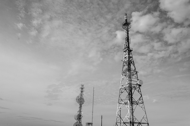 Antennas, Sky, Telecommunications, Structure, Tower