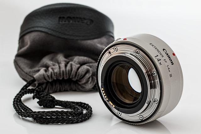 Lens Extender, Teleconverter, Photographic Equipment