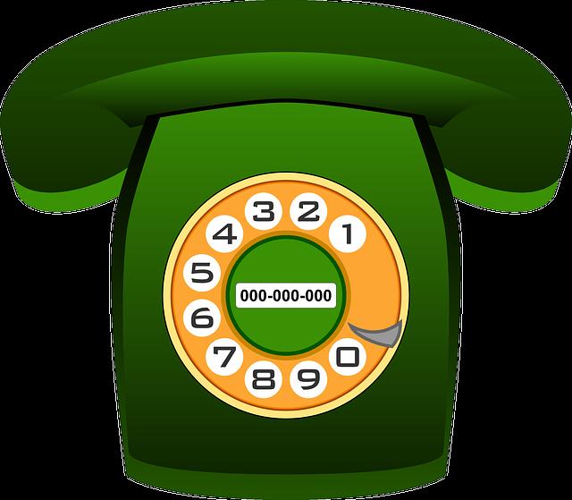 Phone, Telephone, Communication, Technology, Old, Green