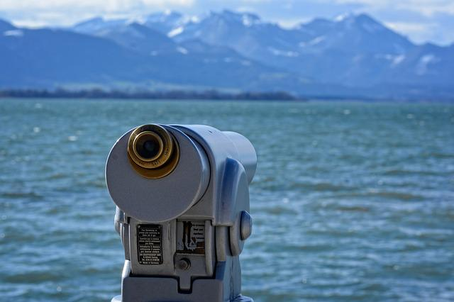 Telescope, View, Distant, Binoculars, Distant View