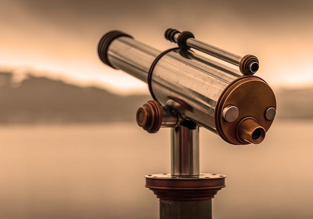 Telescope, By Looking, View, Optics, Background