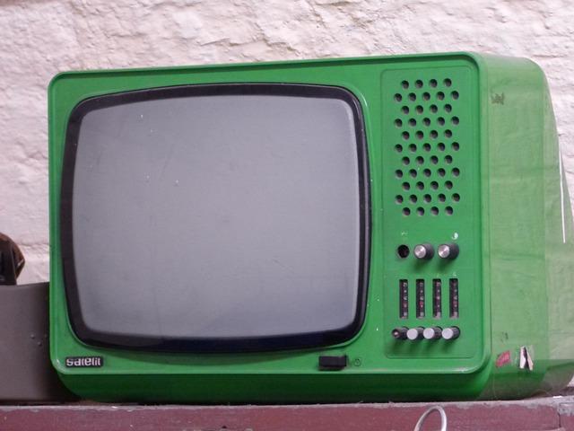 Tv, Antique, Monument, Television And Radio
