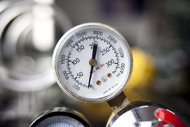 Pressure Gauge, Caliber, The Measure, Temperature