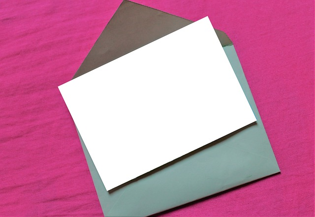 Paper, Blank, Empty, Document, Template, Envelope