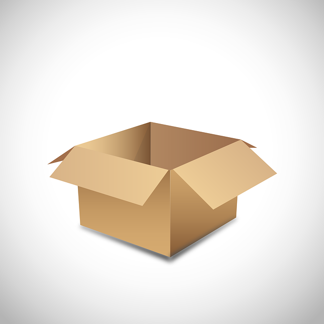Cardboard, Vector, Empty, Move, Template, Box, Storage