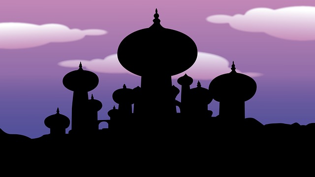 Aladdin, Arab Night, Temple, 1000 And One Night, Disney