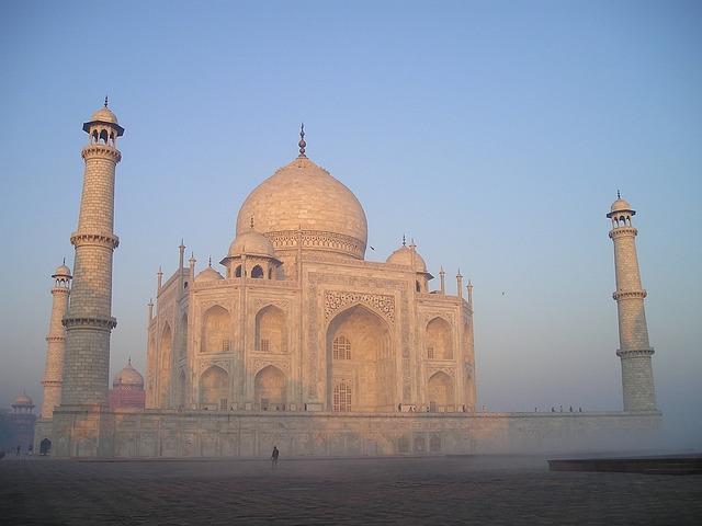 Taj Mahal, India, Agra, Tomb, Grave, Sunrise, Temple