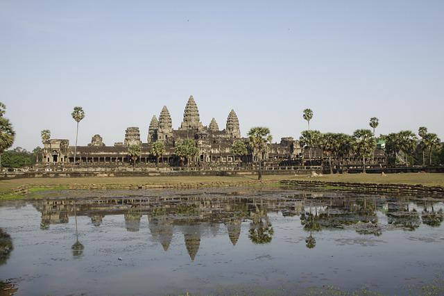 Angkor Wat, Khmer, Siem Reap, Temple, Architecture