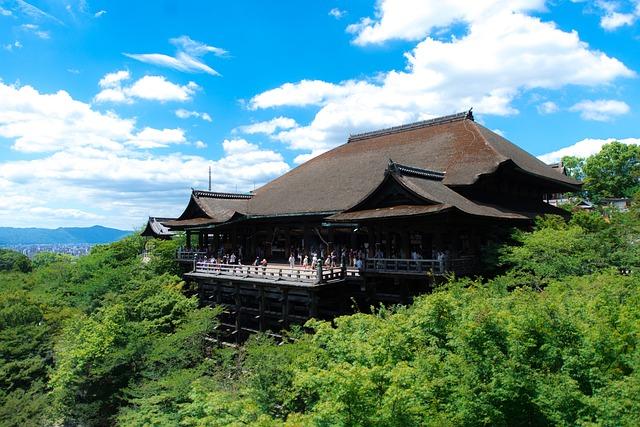 Temple, Japan, Kyoto, Japanese, Buddhist, Architecture