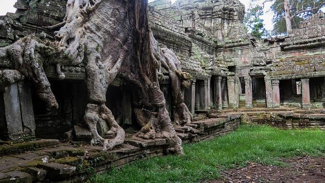 Cambodia, Angkor, Temple, History, Asia