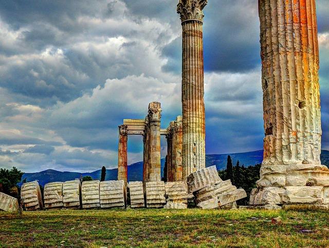 Athens, Temple, Zeus