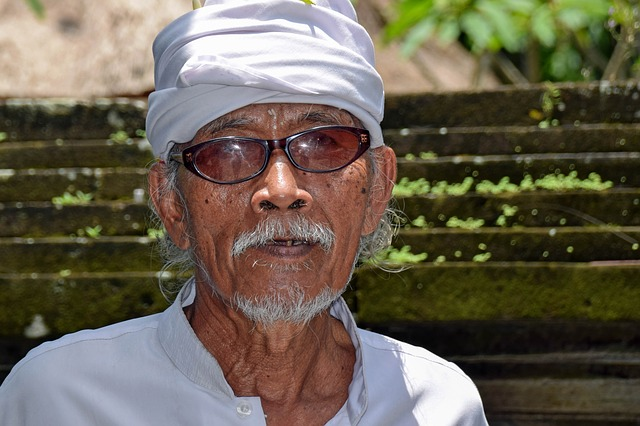 Bali, Indonesia, Travel, Temple, Scholar, Man, Holy