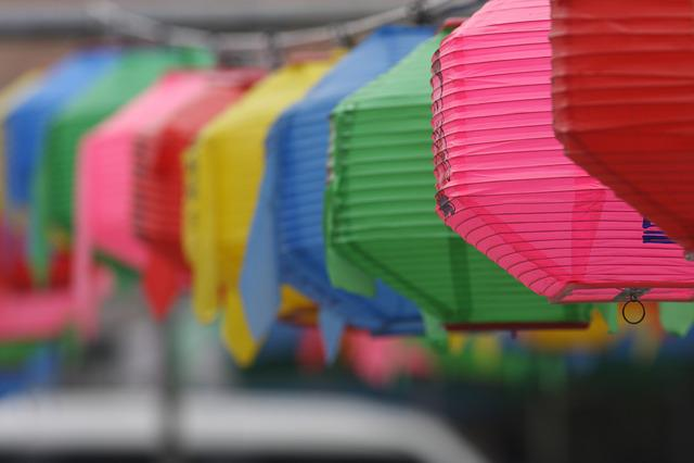 Buddha's Birthday, Buddhism, Republic Of Korea, Temple