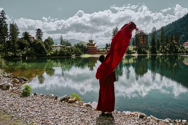 Monk, Temple, Eminent Monk, Tibetan Buddhism, Buddhism