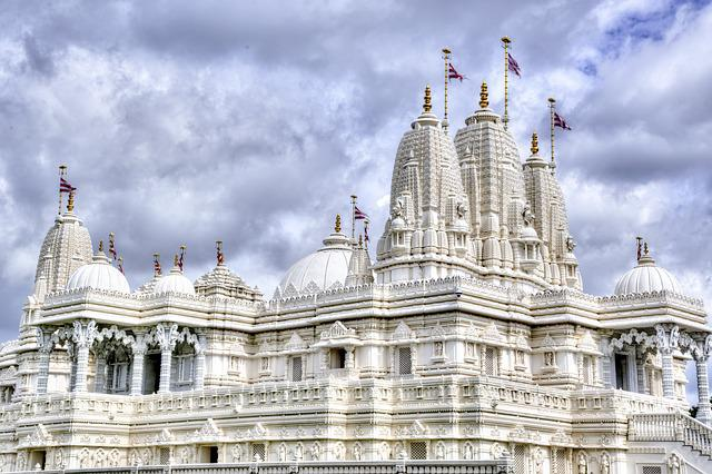 Hindu Temple, Temple, Religion, Building, Tourism