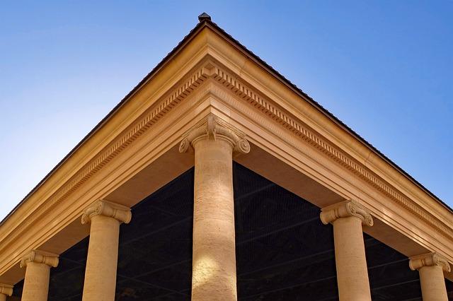 Column, Temple, Antique, Shrine, Architecture, Building
