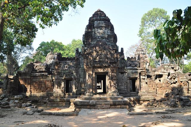 Angkor, Hinduism, Faces, Temple Complex, History