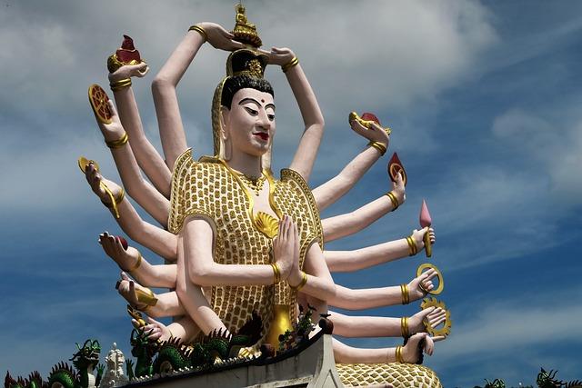 Temple, Thailand, Koh Samui, Religion