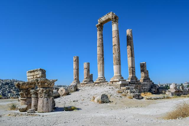Temple Of Hercules, Historic Site, Roman Temple