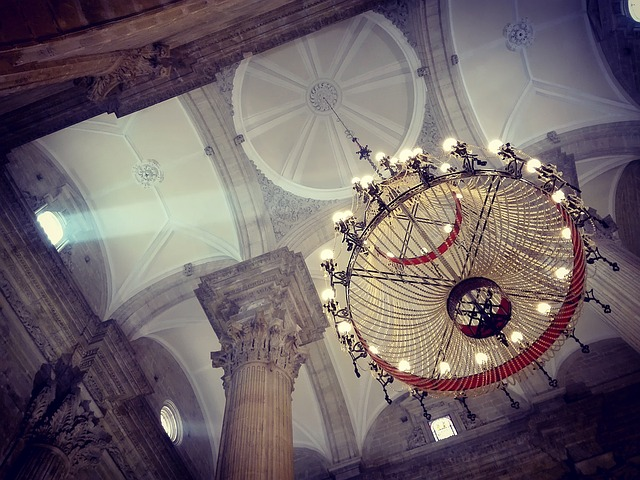 Church, Temple, Lamp, Cathedral, Religion, Architecture